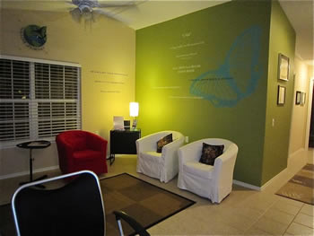 Rejuvenation center training lobby