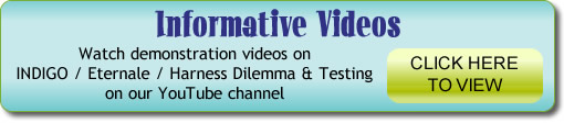 Watch demonstration videos on  INDIGO / Eternale / Harness Dilemma & Testing on our YouTube channel